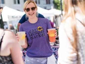 Opening Day at the Easton Farmers' Market (May 5)