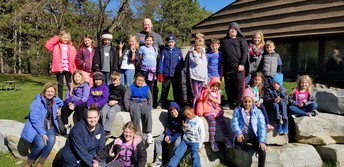 Mrs. Busch's class enjoyed their visit at Oxbow Park.