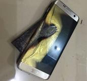 Samsung Galaxy Explosion