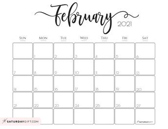 February / March Calendar