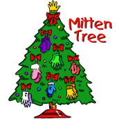 2017 Holiday Service Project - Mitten Tree