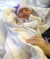 I'm an Auntie....again! Welcome Adeline!