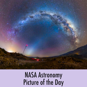 NASA Astronomy Picture of the Day screenshot