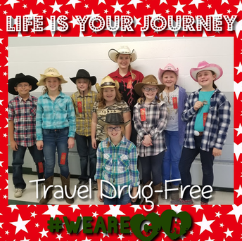 Mrs. Stannard's Class Travels Drug-Free