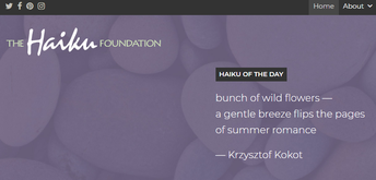 Teacher Resources- National Haiku Day, April 17th, 2021