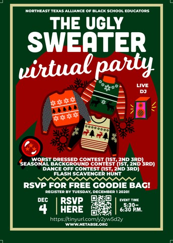 NETABSE Ugly Sweater Virtual Party