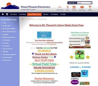 Mt. Pleasant LMC Website