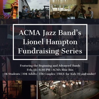 Jazz Band Concert Feb 13th