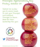 Principal Appreciation Flyer