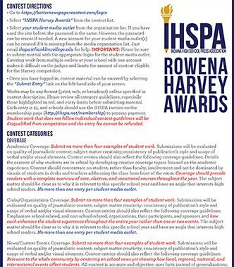 2020-2021 Rowena Harvey Competition