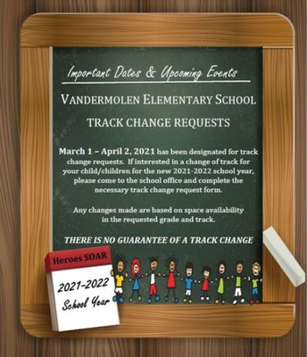 Track Change Requests - ENG