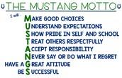 Mustang Motto