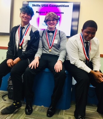 SkillsUSA gets top honors at Regionals