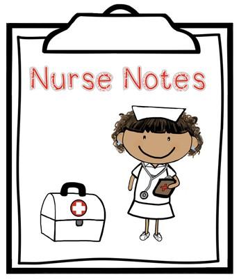 Notes from Nurse Sanchez