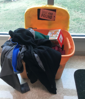 PCMS Lost & Found