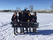 Grade 8 Extreme Sledding Competition Results