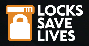 locks save lives logo