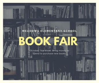 Book Fair Begins this Week (10/20-10/24, updated)