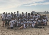 TUPE Club at the Beach Clean-Up