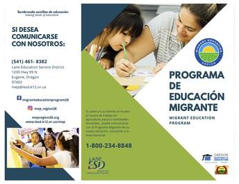 Programa De Educacion Migrante