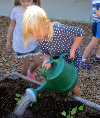 Garden Work Party at MEA