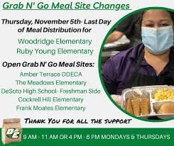 Child Nutrition Grab N' Go Meals Sites