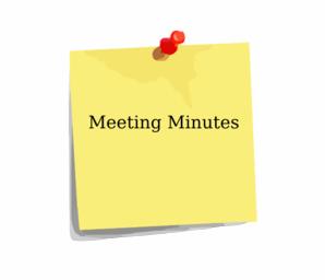 Review PTA meeting draft