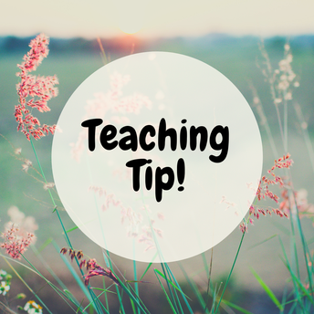 Teaching Tip of the Week: Let the older kids teach the younger ones!