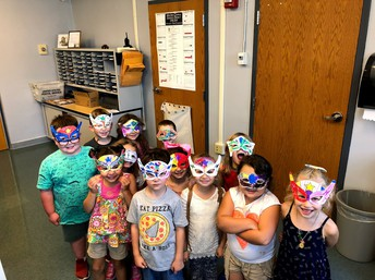 Kindergarten masks