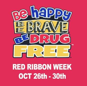 Red Ribbon Week (October 23-31)