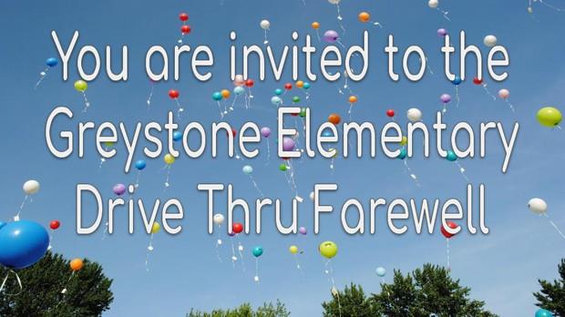 Drive Thru Farewell Invitation