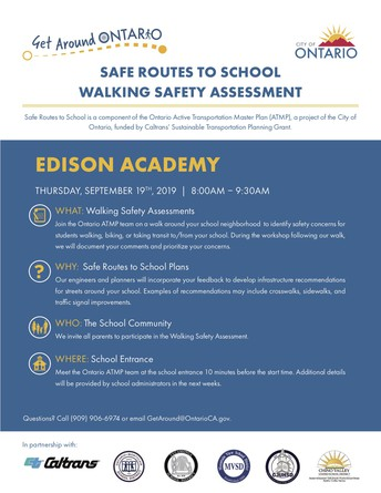 Safe Routes to School: Walking Safety Assessment