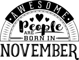 November Birthdays!