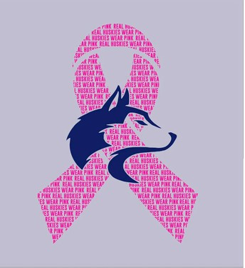 Huskies Wear Pink