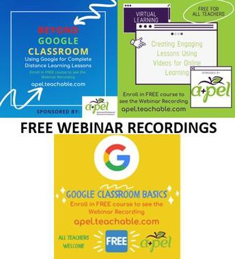 FREE WEBINAR RECORDINGS