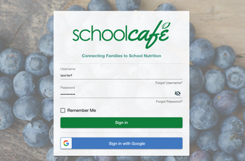 School Meal Payment - Available Online
