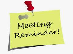 PTO Meeting Reminder!  Tuesday at 9:00AM