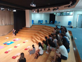CPR and AED Training - by Mr George Demetriou