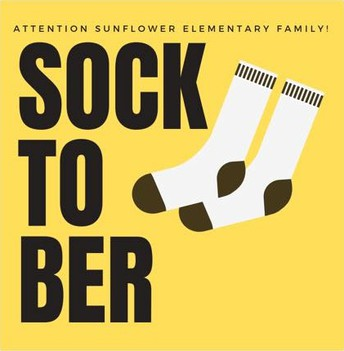 SOCKTOBER SOCK DRIVE SPONSORED BY PTO (repeat)