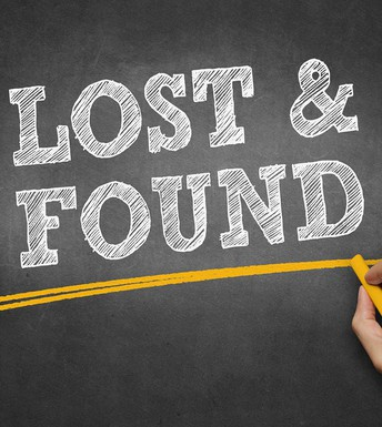 LOST AND FOUND ITEMS IN CHURCH OFFICE