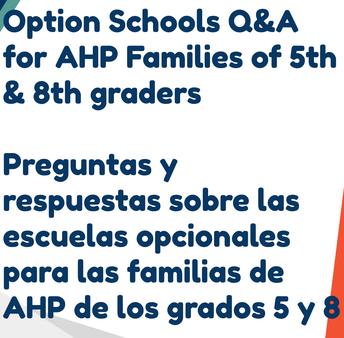 option schools q & a