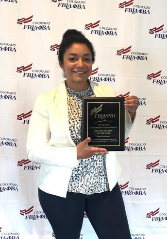 Colorado FBLA Advisory of the Year
