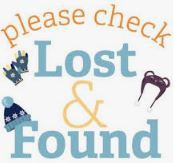 LAST CALL FOR LOST & FOUND!