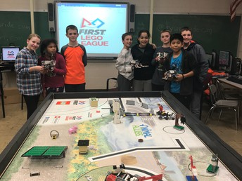 Parent Coached Lego League