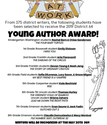 Young Author Winners!
