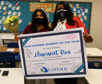 2020-2021 GATESOL Student of the Year