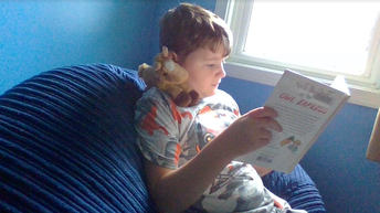 Tyler and His Reading Buddy