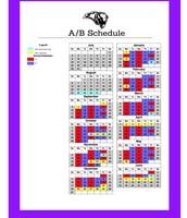A/B Daily Schedule