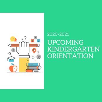 Upcoming Kindergarten families