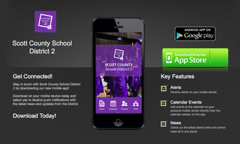 Follow the SCSD2 App!